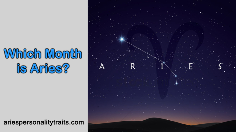 Which Month Is Aries?
